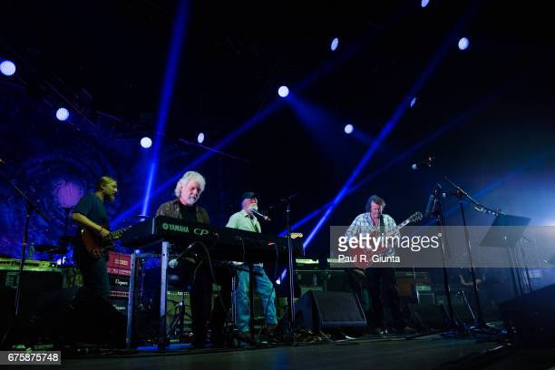 Derek Trucks Chuck Leavell Jimmy Herring and John Bell perform on stage during Hampton 70 at The Fox Theatre on May 1 2017 in Atlanta Georgia