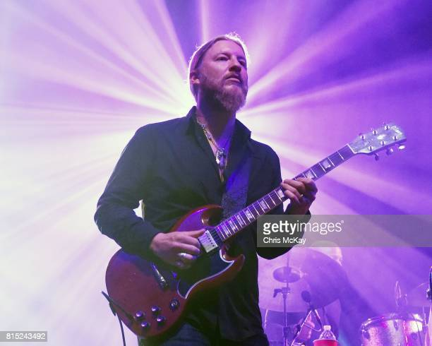 Derek Trucks of Tedeschi Trucks Band performs at The Fox Theatre on July 15 2017 in Atlanta Georgia