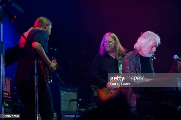 Derek Trucks Warren Haynes and Chuck Leavell perform on stage during Hampton 70 at The Fox Theatre on May 1 2017 in Atlanta Georgia