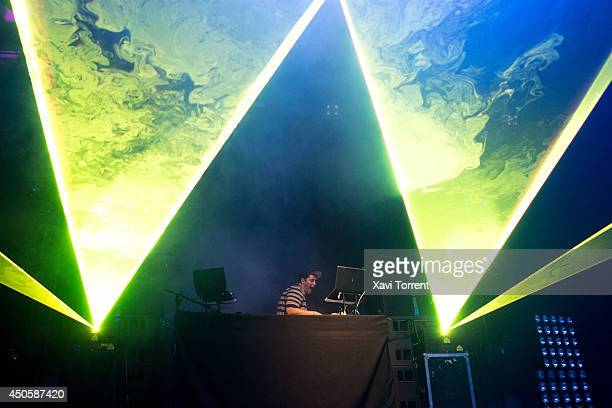 Derek Vincent Smith of Pretty Lights performs on stage during the second day of Sonar Festival on June 13 2014 in Barcelona Spain