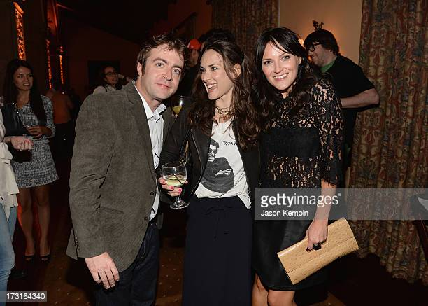 Derek Waters Winona Ryder and Jen Kirkman attend Comedy Central's 'Drunk History' Premiere Party at The Wilshire Ebell Theatre on July 8 2013 in Los...