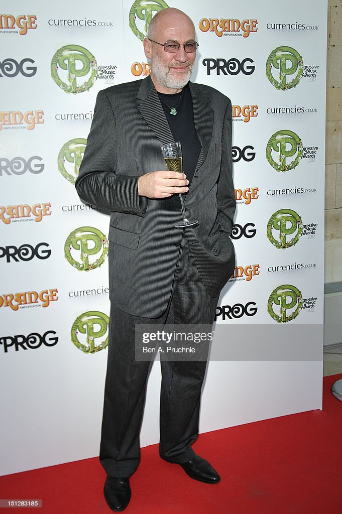 Derek William Dick, aka Fish, attends the Progressive Music Awards at Kew Gardens on September 5, 2012 in London, England.