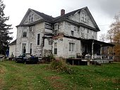 Derelict House in Deposit NY