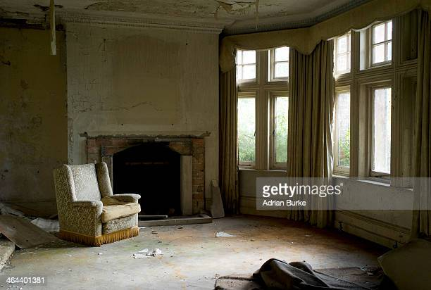 Derelict house.