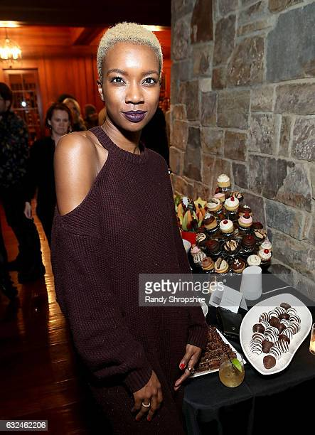 Derica Cole Washington attends Google Home x Sundance x Wanderluxxe celebrate diversity at the home of Barry Amy Baker on January 22 2017 in Park...