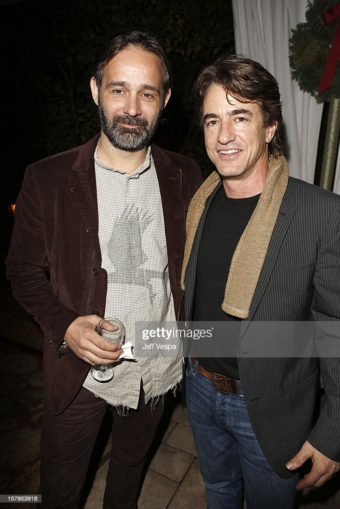 <a gi-track='captionPersonalityLinkClicked' href=/galleries/search?phrase=Dermot+Mulroney&family=editorial&specificpeople=208776 ng-click='$event.stopPropagation()'>Dermot Mulroney</a> and guest attends the SILVER LININGS PLAYBOOK Event Hosted By Lexus And Purity Vodka at Chateau Marmont on December 7, 2012 in Los Angeles, California.