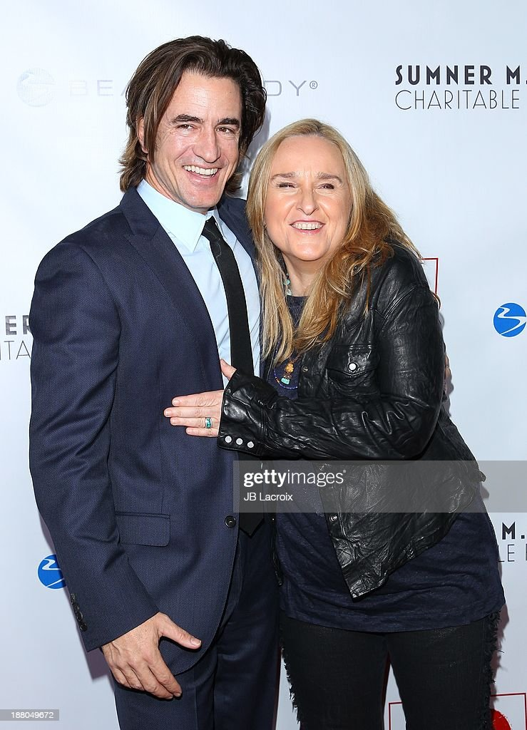 <a gi-track='captionPersonalityLinkClicked' href=/galleries/search?phrase=Dermot+Mulroney&family=editorial&specificpeople=208776 ng-click='$event.stopPropagation()'>Dermot Mulroney</a> and <a gi-track='captionPersonalityLinkClicked' href=/galleries/search?phrase=Melissa+Etheridge&family=editorial&specificpeople=206313 ng-click='$event.stopPropagation()'>Melissa Etheridge</a> attend the 6th Annual GO GO Gala at Bel Air Bay Club on November 14, 2013 in Pacific Palisades, California.