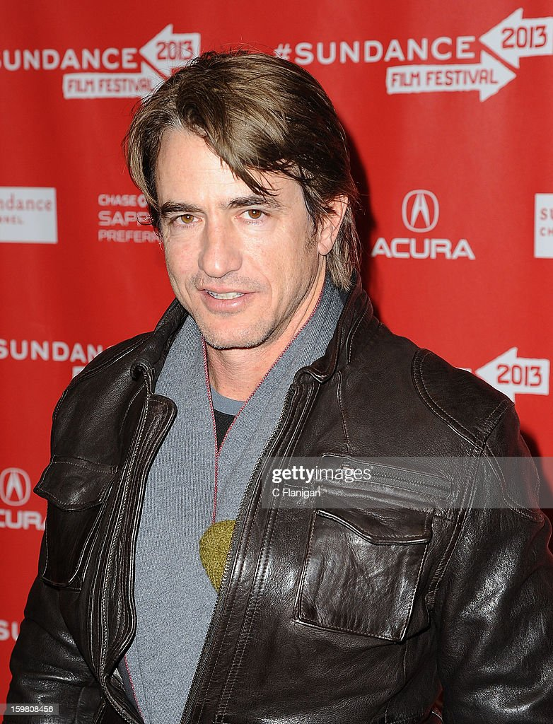 <a gi-track='captionPersonalityLinkClicked' href=/galleries/search?phrase=Dermot+Mulroney&family=editorial&specificpeople=208776 ng-click='$event.stopPropagation()'>Dermot Mulroney</a> attends the 'Stoker' Premiere at Eccles Center Theatre on January 20, 2013 in Park City, Utah.