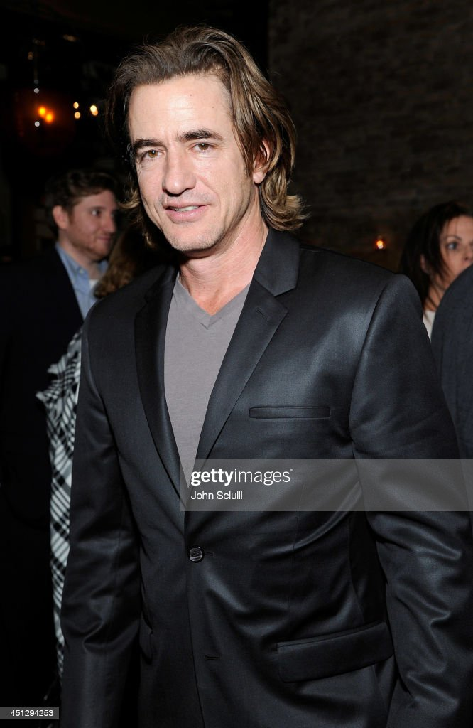 <a gi-track='captionPersonalityLinkClicked' href=/galleries/search?phrase=Dermot+Mulroney&family=editorial&specificpeople=208776 ng-click='$event.stopPropagation()'>Dermot Mulroney</a> attends the Weinstein Company's holiday party at RivaBella on November 21, 2013 in West Hollywood, California.