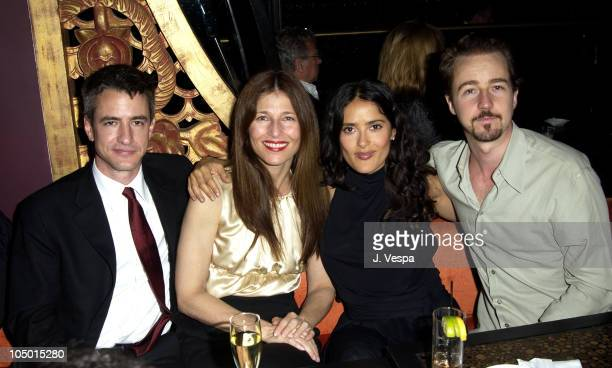 Dermot Mulroney Catherine Keener Salma Hayek and Edward Norton