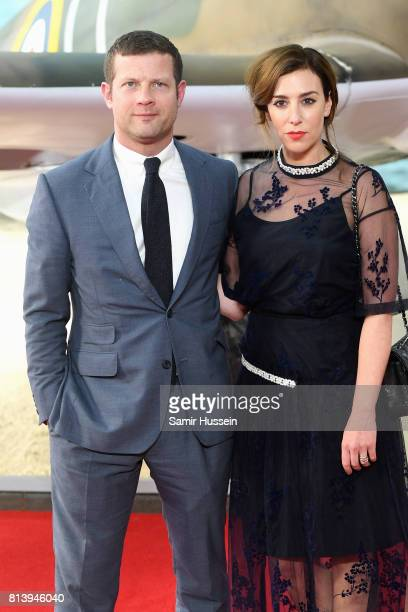 Dermot O'Leary and Dee Koppang attend the 'Dunkirk' World Premiere at Odeon Leicester Square on July 13 2017 in London England