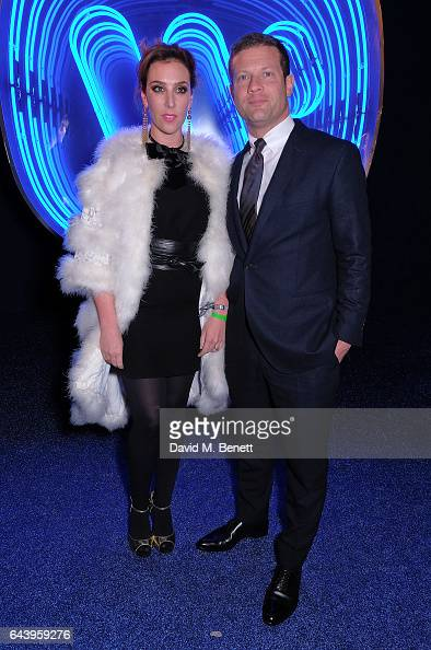 Dermot OÕLeary and Dee Koppang attend The Warner Music Ciroc Brit Awards After Party on February 22 2017 in London England
