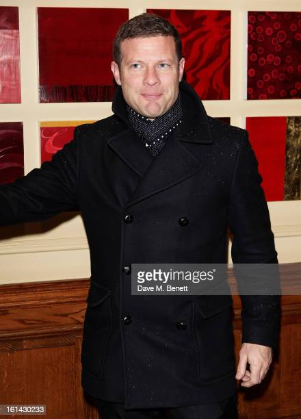 Dermot O'Leary arrives at the after party following the EE British Academy Film Awards at Grosvenor House on February 10 2013 in London England