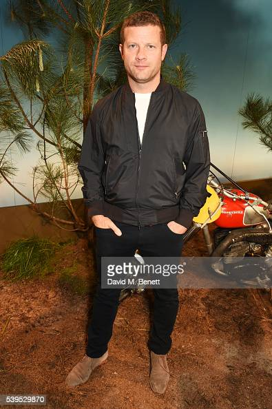 Dermot O'Leary attends the Belstaff presentation during The London Collections Men SS17 at QEII Centre on June 12 2016 in London England