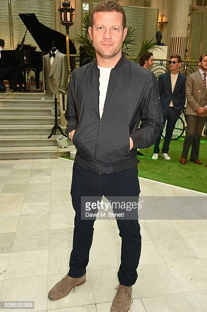 Dermot O'Leary attends the Chester Barrie presentation during The London Collections Men SS17 on June 12 2016 in London England