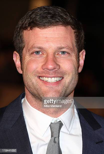 Dermot O'Leary attends the UK premiere of 'Revolutionary Road' at Odeon Leicester Square on January 18 2009 in London England