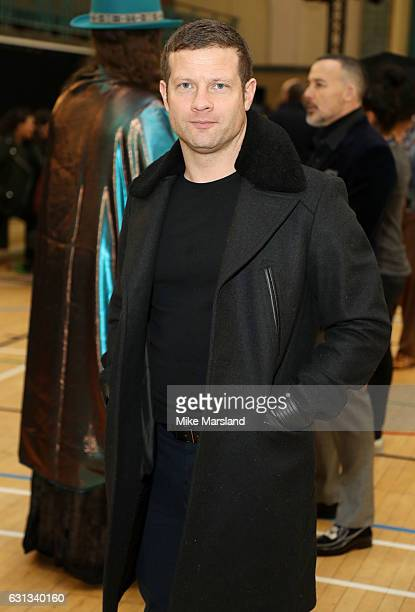 Dermot O'Leary attends the Vivienne Westwood show during London Fashion Week Men's January 2017 collections at on January 9 2017 in London England