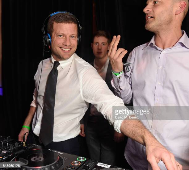 Dermot OÕLeary attends The Warner Music Ciroc Brit Awards After Party on February 22 2017 in London England