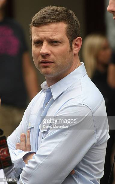Dermot O'Leary seen at the X Factor Boot Camp at Hammersmith Apollo on July 29 2009 in London England