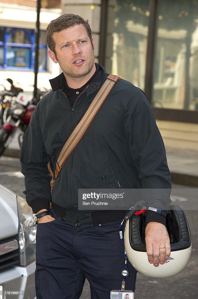 Dermot O'leary sighted at BBC Radio Stufdios on August 27, 2013 in London, England.