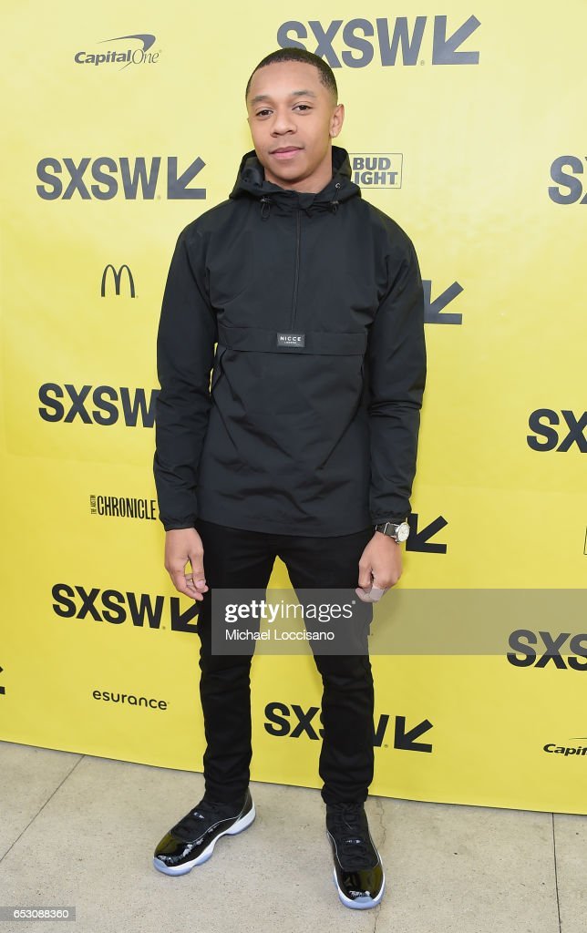 DeRon Horton attends the 'Dear White People' premiere during 2017 SXSW Conference and Festivals at the ZACH Theatre on March 13, 2017 in Austin, Texas.