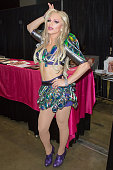 Derrick Barry attends the 2016 RuPaul's DragCon at Los Angeles Convention Center on May 07 2016 in Los Angeles California