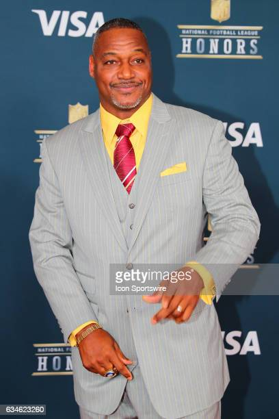 Derrick Brooks on the Red Carpet at the 2017 NFL Honors on February 04 at the Wortham Theater Center in Houston Texas