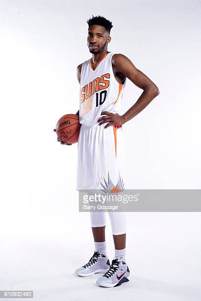 Derrick Jones Jr #10 of the Phoenix Suns poses for a portrait at the 20162017 team media day on September 26 at Talking Stick Resort Arena in Phoenix...