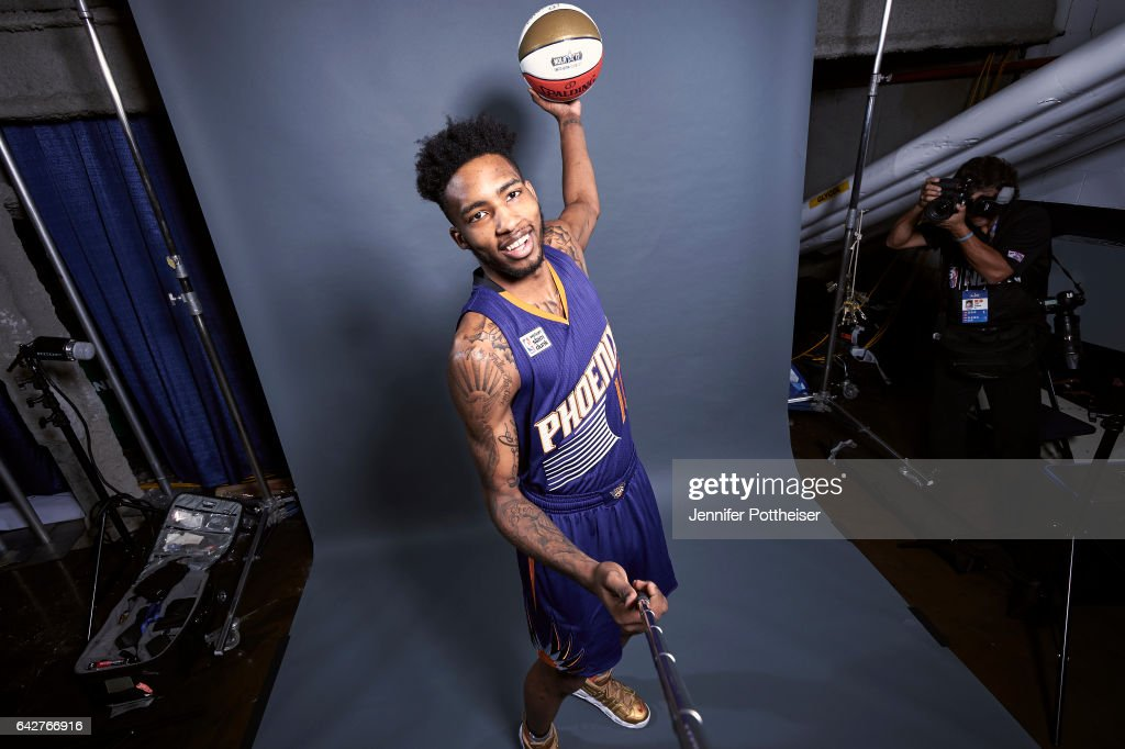 Derrick Jones Jr. of the Phoenix Suns poses for a portrait during State Farm All-Star Saturday Night as part of 2017 All-Star Weekend at the Smoothie King Center on February 18, 2017 in New Orleans, Louisiana.