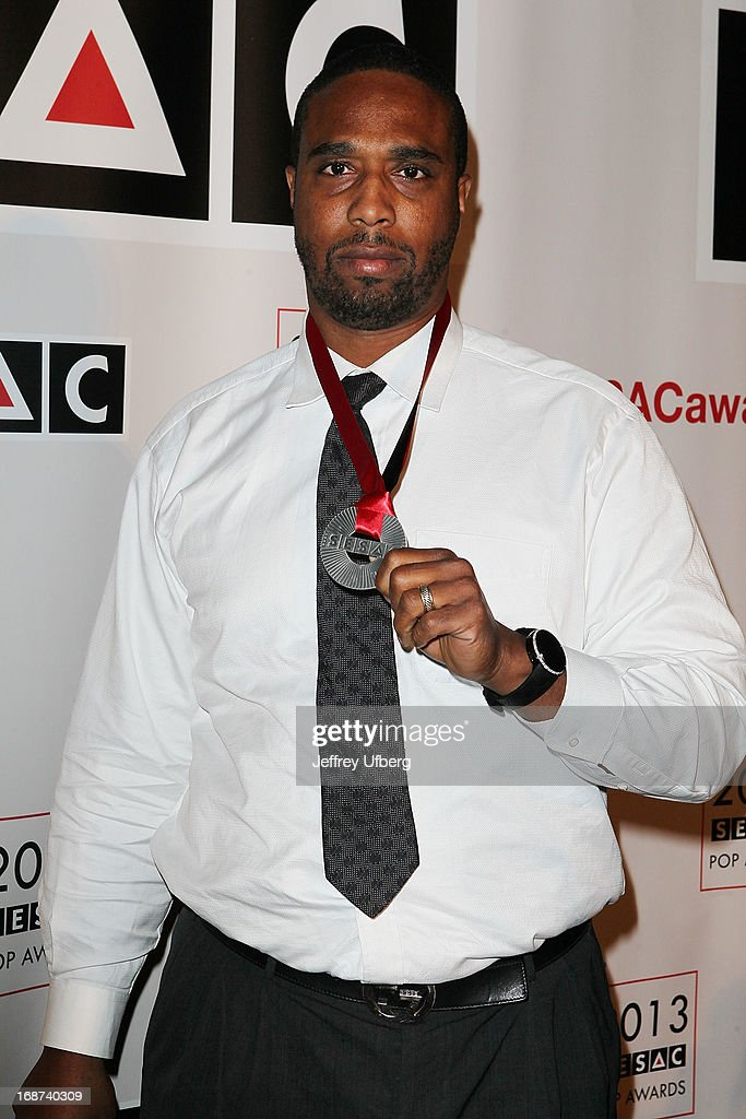 Derrick Price attends 2013 SESAC Pop Music Awards at New York Public Library on May 13, 2013 in New York City.