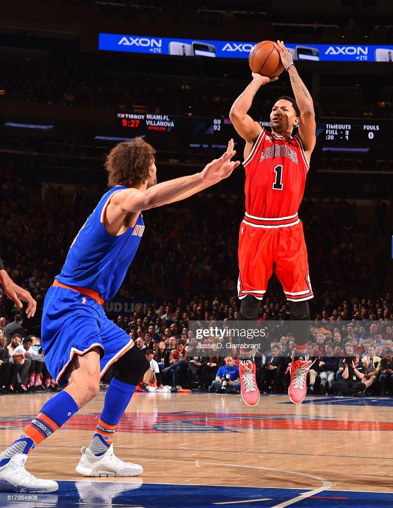 Chicago Bulls V New York Knicks Getty Images