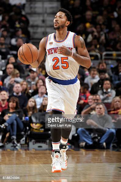 Derrick rose stock photos and pictures getty images - Derrick rose wallpaper knicks ...
