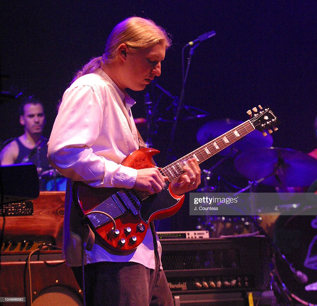 Derrick Trucks during The Allman Brothers Band Live at the Beacon Theater, New York City at Beacon Theater in New York City, New York, United States.