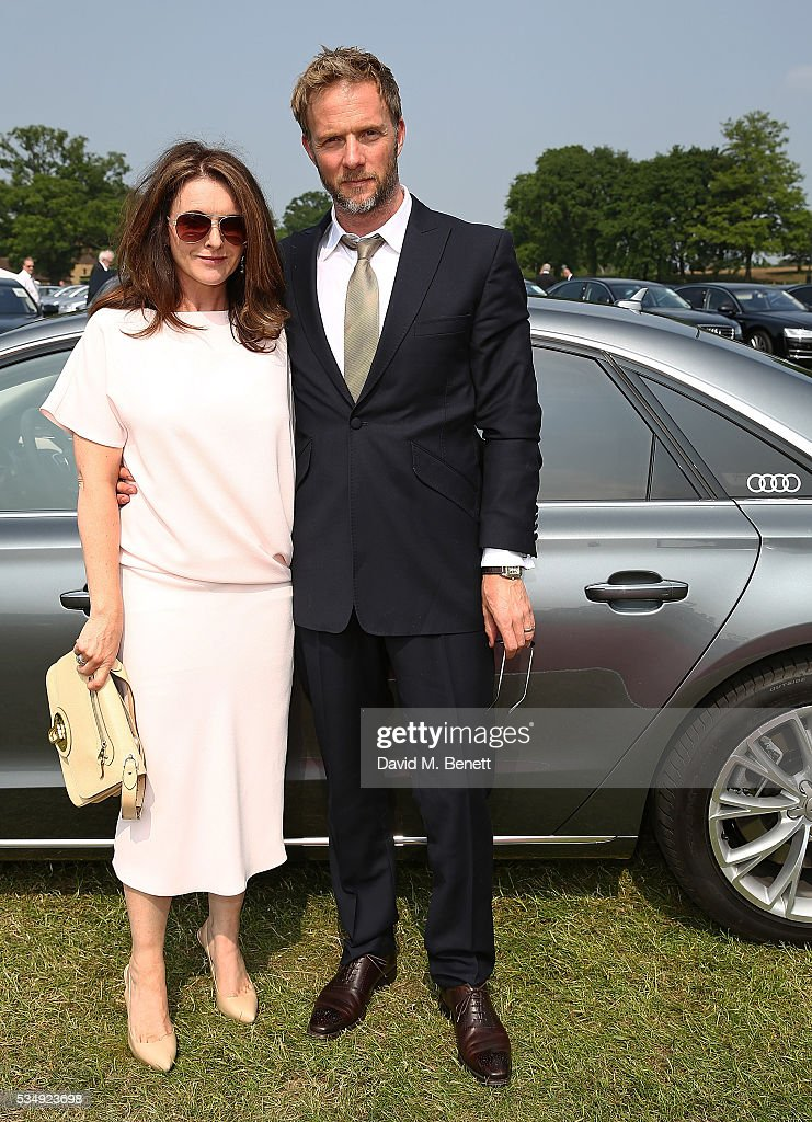 <a gi-track='captionPersonalityLinkClicked' href=/galleries/search?phrase=Dervla+Kirwan&family=editorial&specificpeople=3061546 ng-click='$event.stopPropagation()'>Dervla Kirwan</a> and Rupert Penry-Jones attend day one of the Audi Polo Challenge at Coworth Park on May 28, 2016 in London, England.