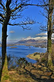 Derwentwater as seen from surprise view,lake district,England