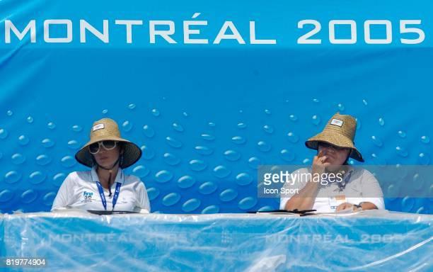 Des Juges Solo Natation Synchronisee Championnat du Monde de Natation a Montreal