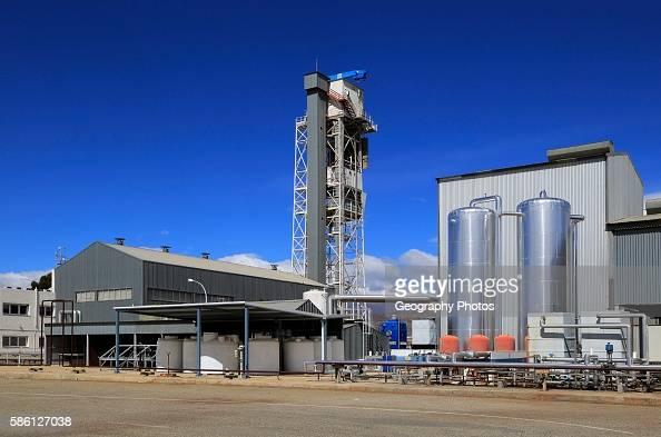 Desalinization plant at the solar energy scientific research center Tabernas Almeria Spain