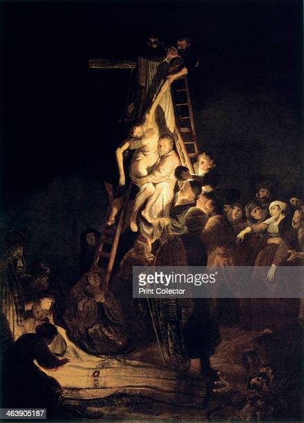 'Descent From the Cross' 1634 From the The Hermitage Museum St Petersburg Russia