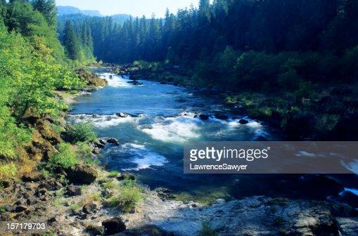 Deschutes River, Oregon, august
