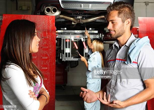 Describing the Car Repair