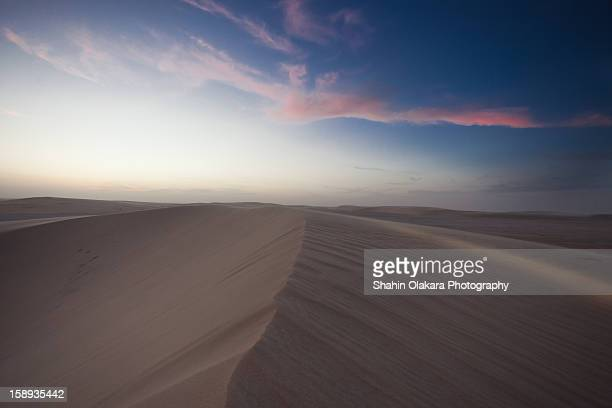 Desert Dunes of Qatar