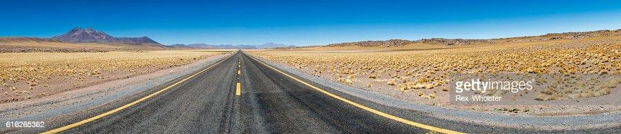Desert Highway : Stock Photo