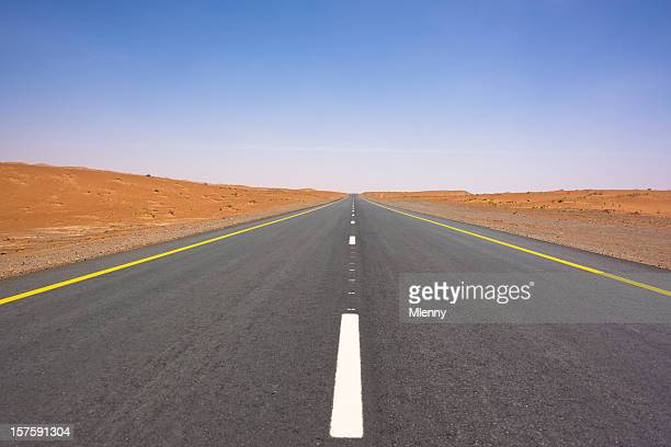 Desert Highway to the Horizon