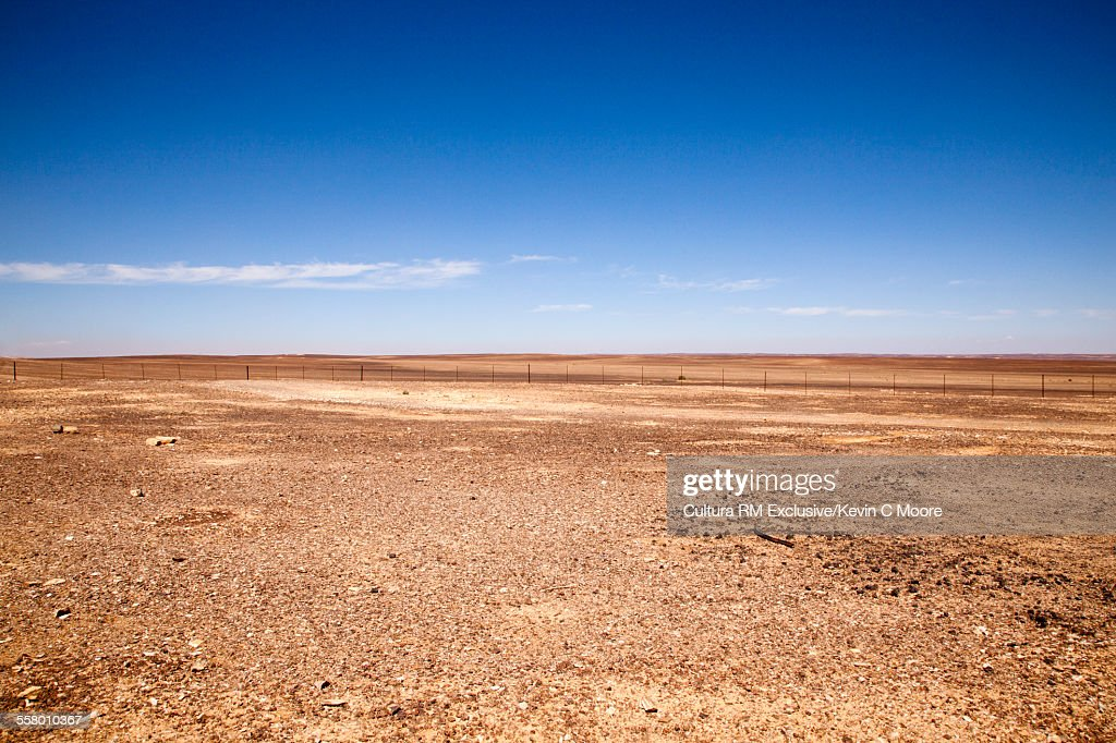 Desert landscape, East of Amman, Jordan