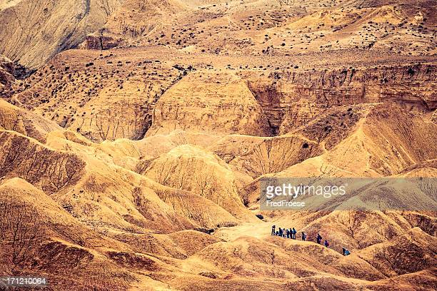 Desert mountain in the holyland