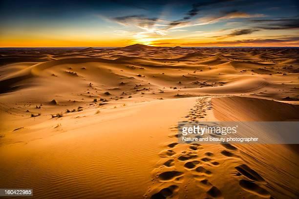 Desert on Morocco