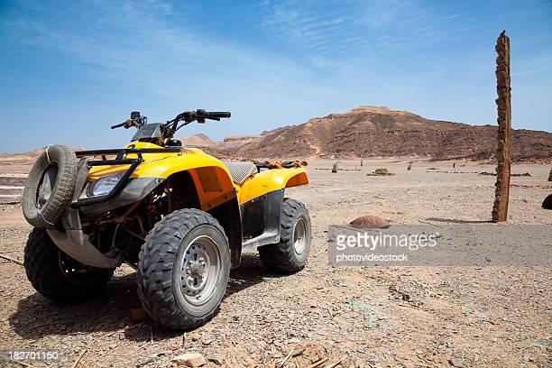 砂漠ラリー、クワッド