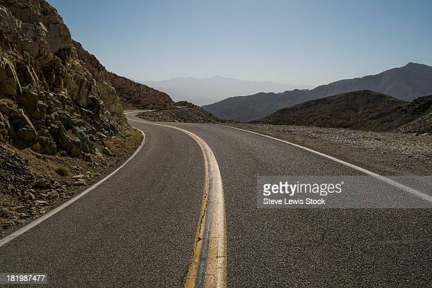 Desert road in California