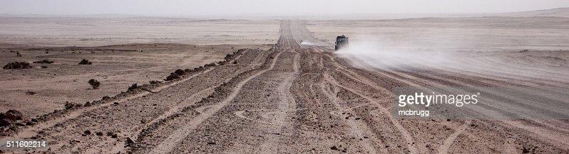 Desert Road Panorama