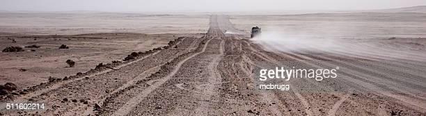 Route de désert Panorama